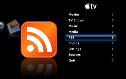 Apple TV RSS plugin