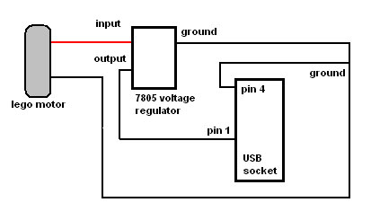 diagram USB lego charger