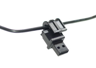 power cord safety latch