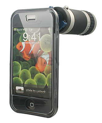 iphone telescope lens