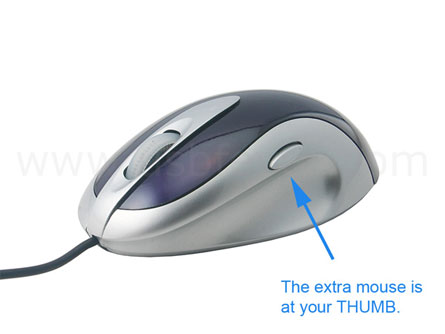 usb privacy mouse