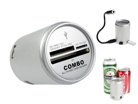 canned card reader