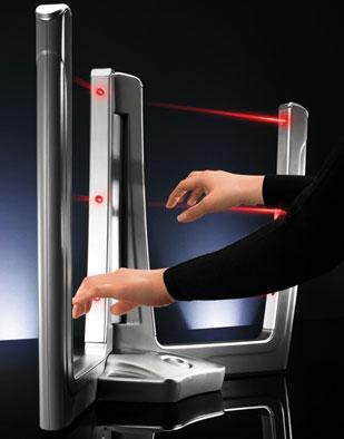 laser beam music system