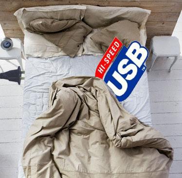 sleep and charge usb