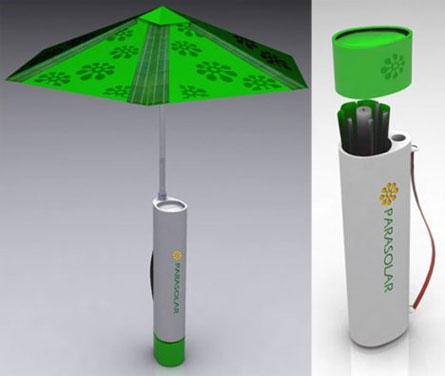 parasolar usb umbrella