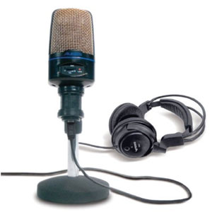 alesis usb podcasting mic