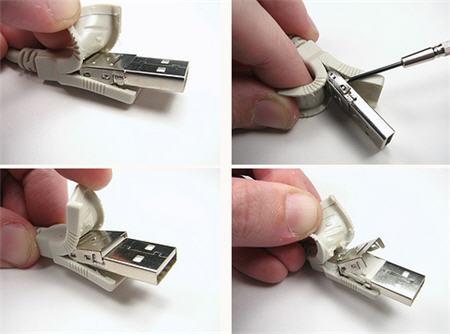 sawed off usb key