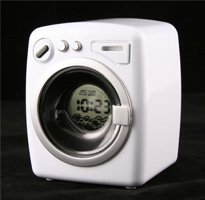 usb washing machine, alarm clock