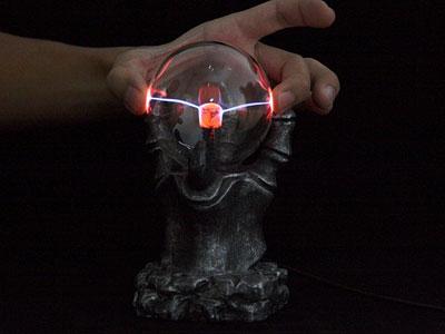 gothic plasma ball