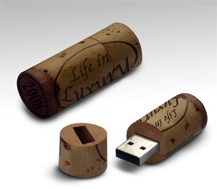 wine cork usb