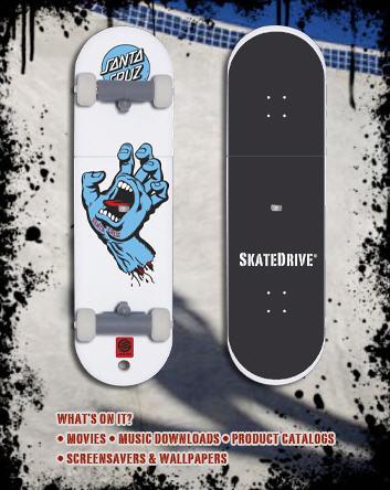usb skatedrive
