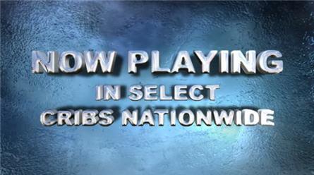 dvd birth announcement