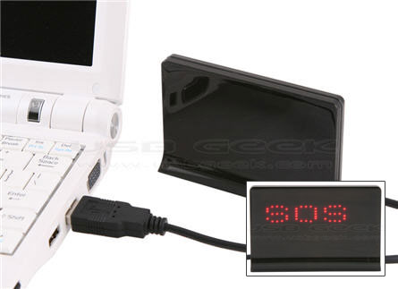 USB led message board