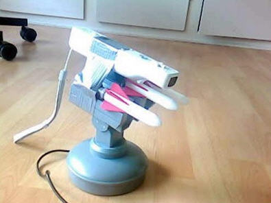 usb missile launcher wii