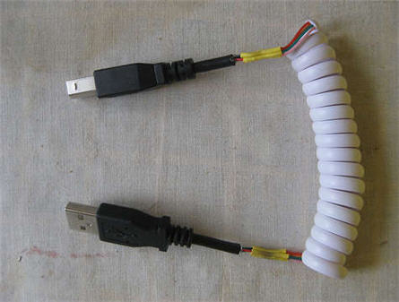 usb coil cable