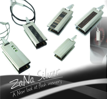 sterling silver usb stick