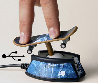 usb finger skateboard