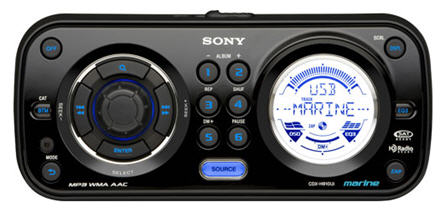 sony marine cd