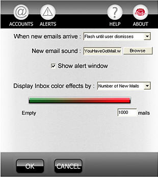 usb webmail alert