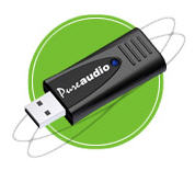 pure audio usb stick