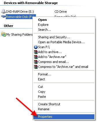 format USB NTFS