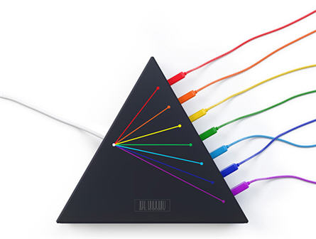 colorful usb hub