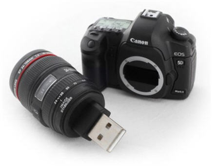 5d canon custom flash drive