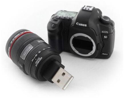 5d canon custom flash drive