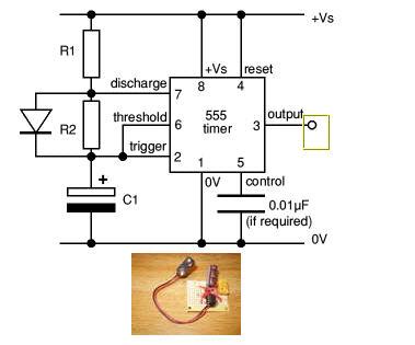 tv spy remote schematic