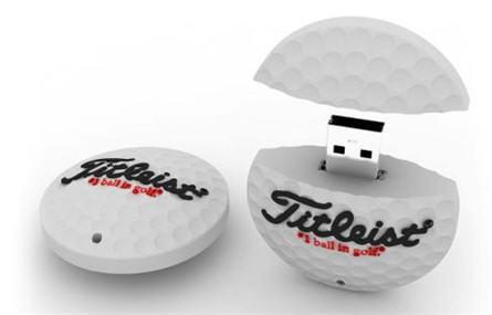 titleist usb golf ball