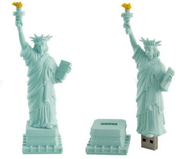 usb statue of liberty
