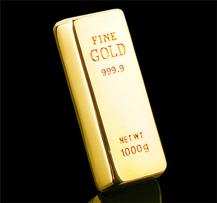 solid gold USB stick