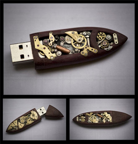 USB steampunk