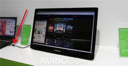 Samsung USB monitor