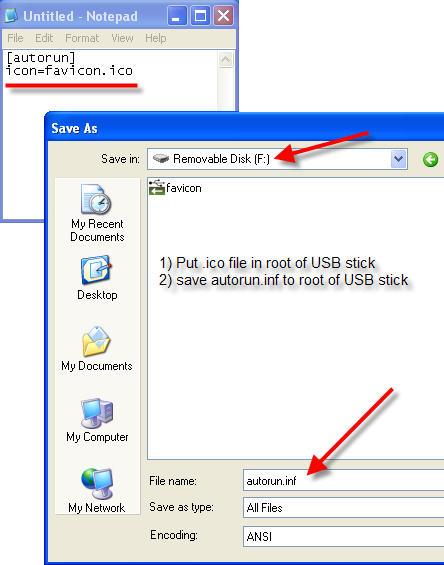 USB favicon - How To Make