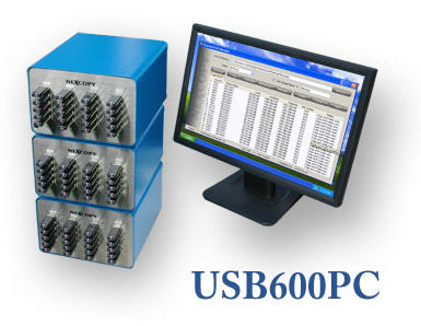 USB Duplicator, Large 60 Ports, Nexcopy