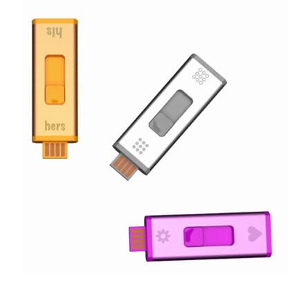 USB split stick