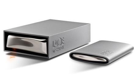 LaCie USB hard drive