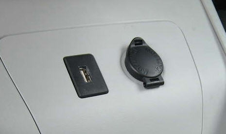 car usb port