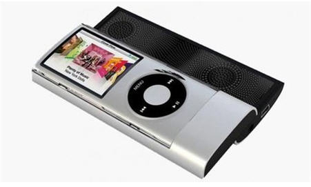 ipod slider speakers
