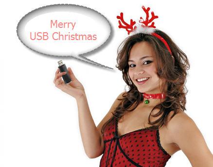USB Christmas