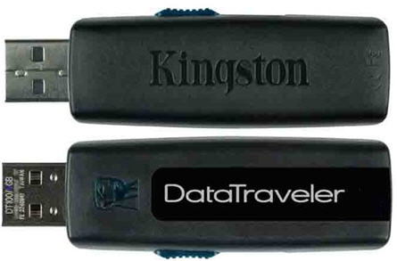 Kingston secure flash drive