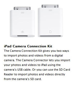 Apple iPad USB adapter