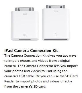 Apple iPad USB adapter