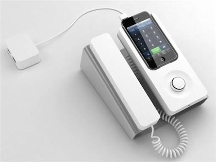 corded iphone