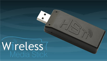 wireless usb media