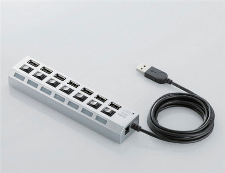 USB power strip 7 port