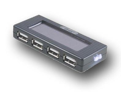USB solar charge Hub
