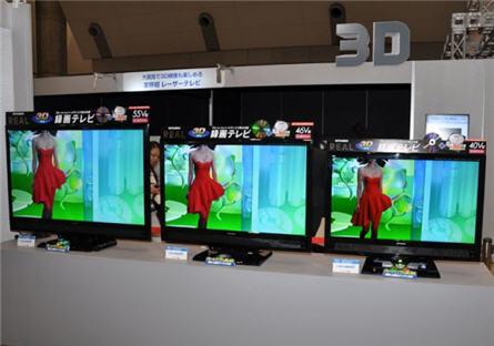 Mitsubishi 3D TV