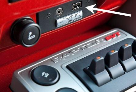 USB Ford Sync